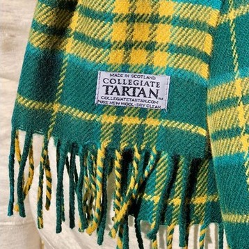 Image For Scarf - Official NDSU Tartan Wool