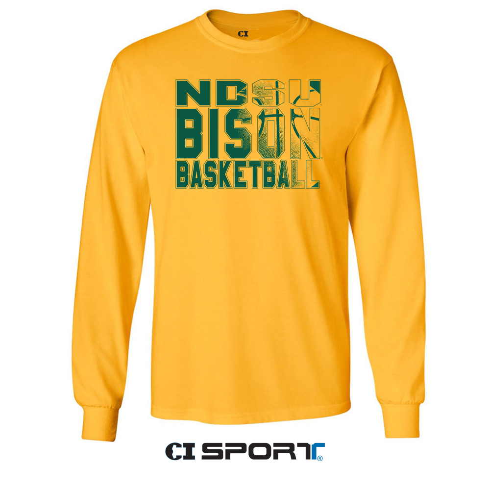 Cover Image For Long Sleeve T-Shirt - by CI Sport BASKETBALL