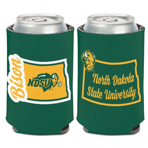Cover Image For Can Coozie - North Dakota State Shape