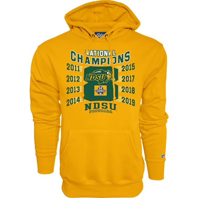 Cover Image For Hooded Sweatshirt - 2019 FCS National Championship