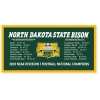Cover Image for Carson Wentz NDSU Bronze Coin Photo (Online Exclusive)