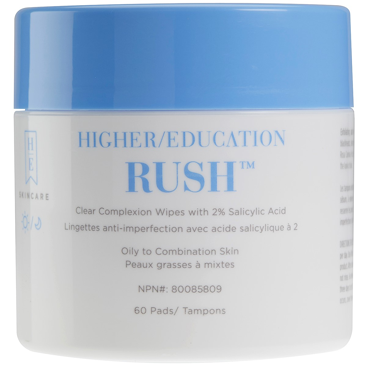 Image For Higher Education Skincare - Rush™