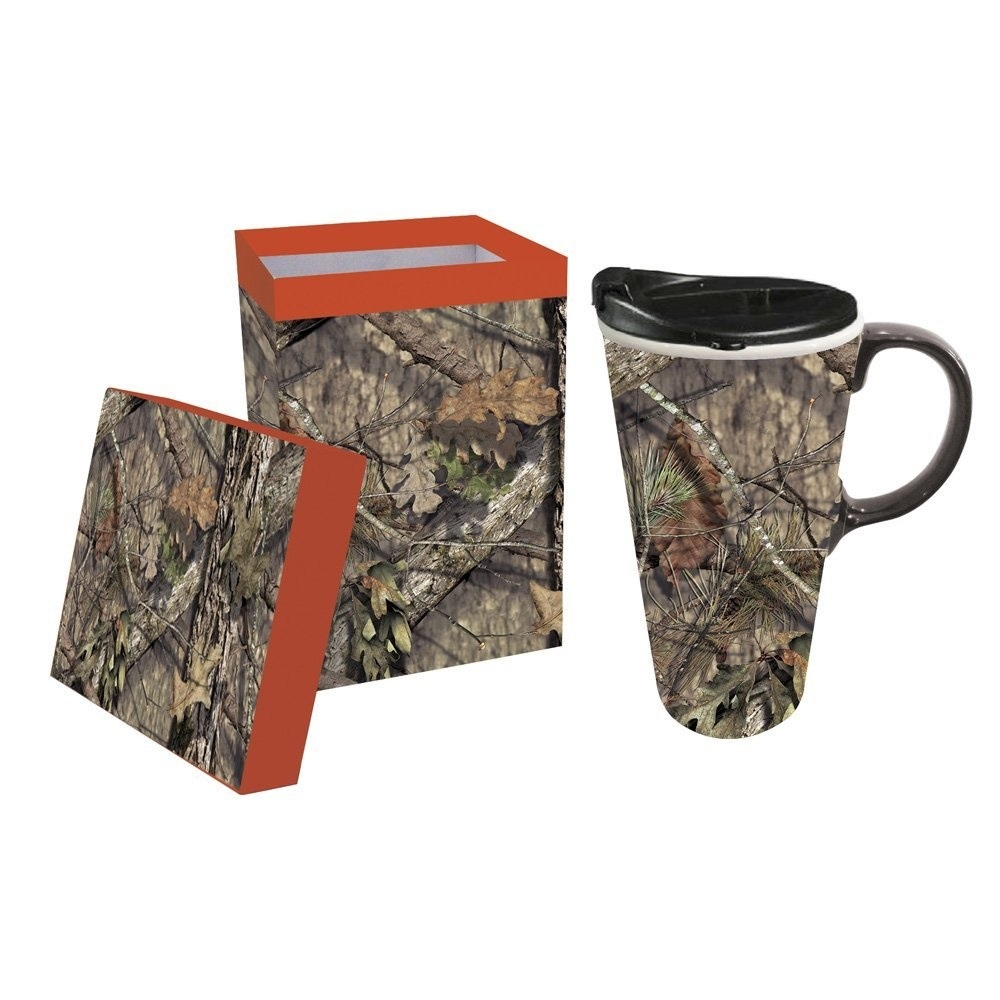 Cover Image For SALE- Travel Mug - Mossy Oak