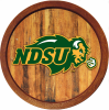 Cover Image for White Board - NDSU Bison logo (Online Exclusive)