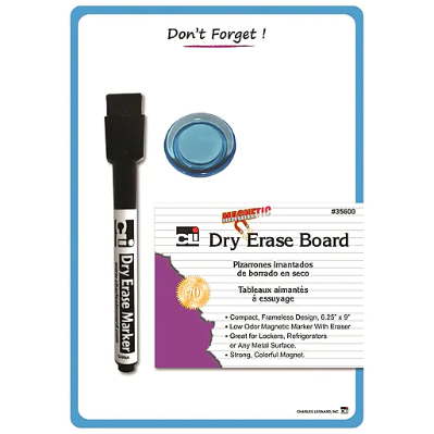 "Image For CLI MAGNETIC 6.25X9 ""DON'T FORGET"" DRY ERASE BOARD"