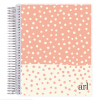 ERIN CONDREN NOTEBOOK COLORBLK DOTS Image