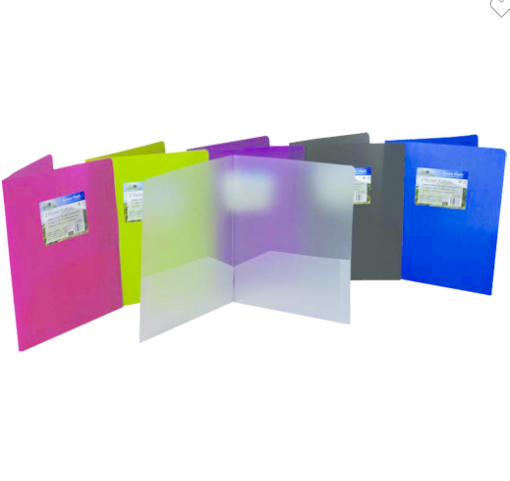 Image For FILEXEC GREEN OATH ASSORTED BIODEGRADABLE POCKET FOLDERS