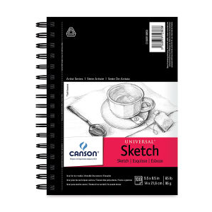 Image For CANSON SKETCH BOOK