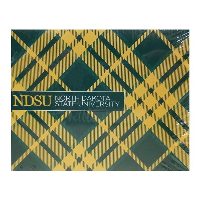Cover Image For Notecards - Official NDSU Tartan