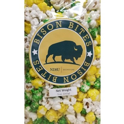 Image For Bison Bites - Popcorn NDSU Mix