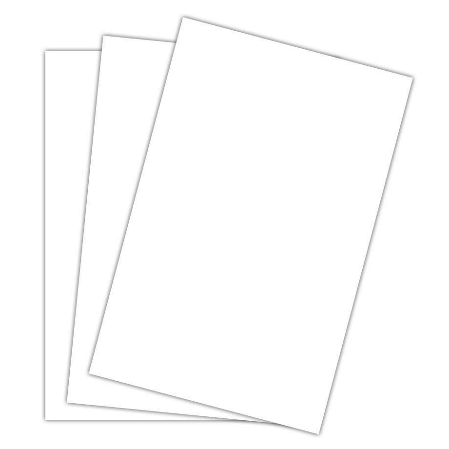 Image For CARDSTOCK WHITE 11X17 INDIVIDUAL SHEET