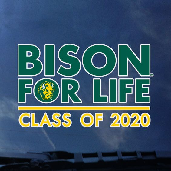 "Image For Decal - ""Bison for Life"" Class of 2020"
