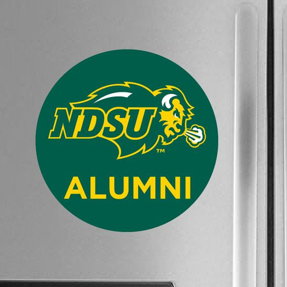 "Image For Button - 3"" Magnetic - ""Alumni"""