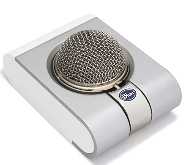 Image For Bllue Snowflake portable USB Microphone