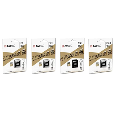 Image For EMTEC 64GB Micro SD with adapter