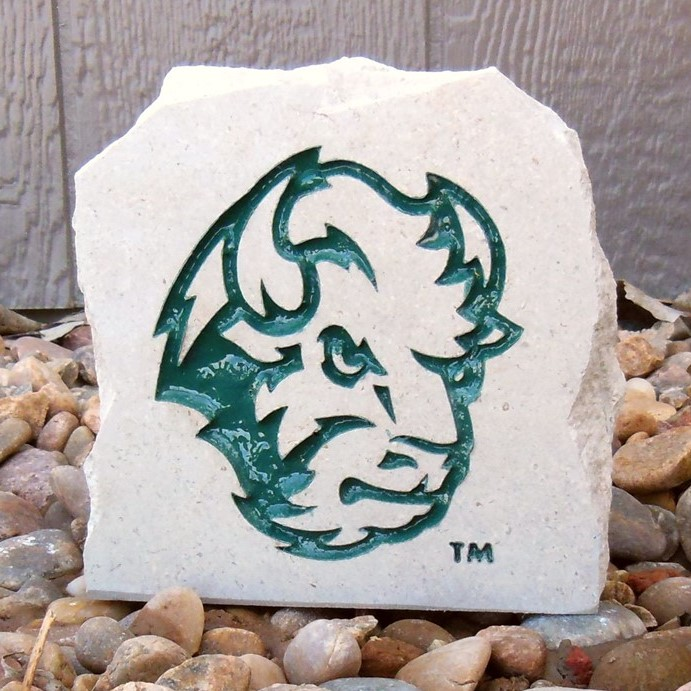 Image For Desk Stone - Small Bison Head Logo (Online Exclusive)