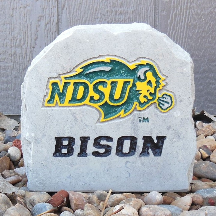 Image For Desk Stone - NDSU Bison (Online Exclusive)