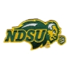 Patch - Embroidered NDSU Bison Logo Image