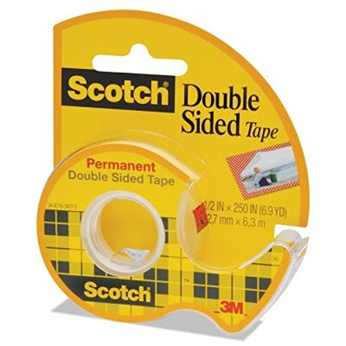 Image For SCOTCH DOUBLE SIDED TAPE 1/2""