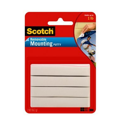 Image For SCOTCH REMOVEALE MOUNTING PUTTY