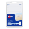 Cover Image for AVERY FILE FOLDER LABELS WHITE 252PK