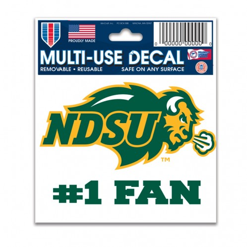 Cover Image For Decal - #1 Fan