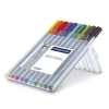 Cover Image for STAEDTLER TRIPLUS FINELINER POROUS POINT PENS 10PK